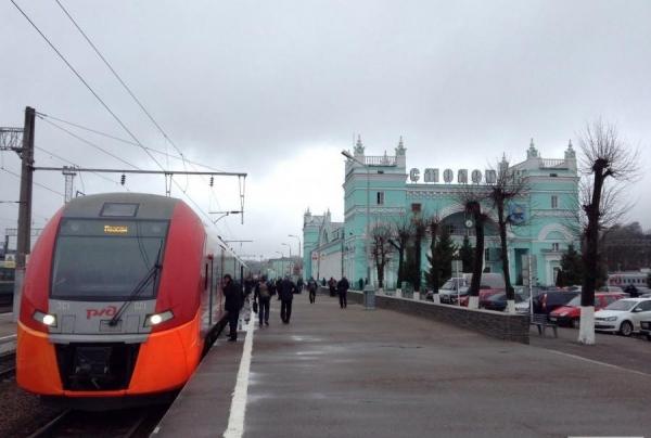 Дополнительные поезда свяжут Смоленск и Москву в новогодние и рождественские праздники