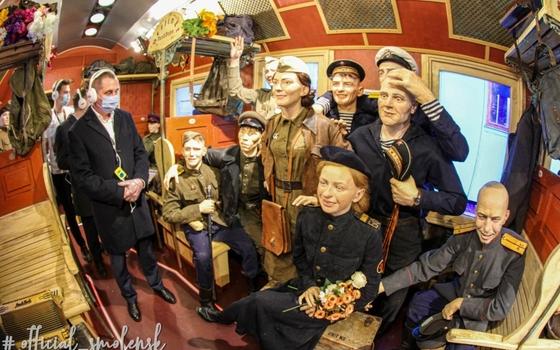 Глава Смоленска посетил «Поезд Победы»