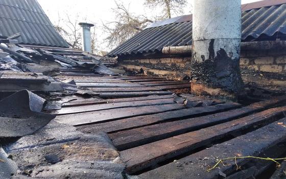 Холодильник загорелся в частном доме в Смоленске
