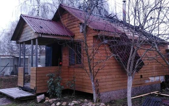 Неисправная печь привела к пожару в деревне Трубино