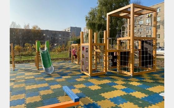 Новая детская игровая площадка появится в микрорайоне Кловка в Смоленске