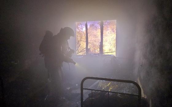 Один человек пострадал в пожаре в Смоленской районе