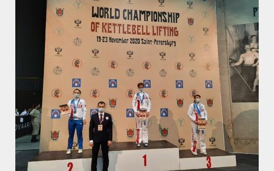 Спортсменка из Смоленска стала чемпионкой мира по гиревому спорту