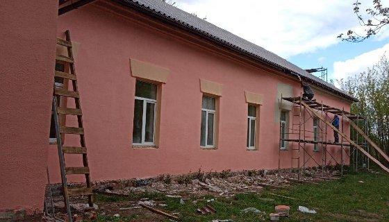 В Доме культуры Рославльского района проходит капитальный ремонт