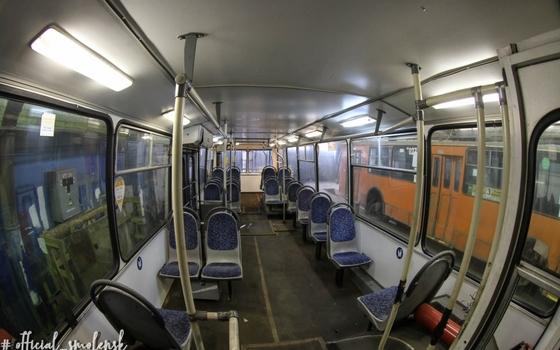 В Смоленске появились московские троллейбусы