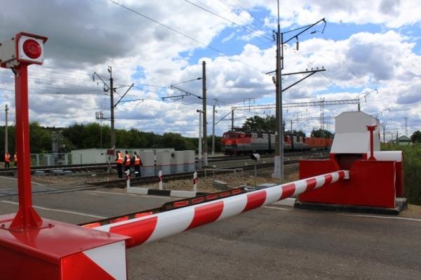 В Смоленском регионе МЖД отремонтировано 39 железнодорожных переездов