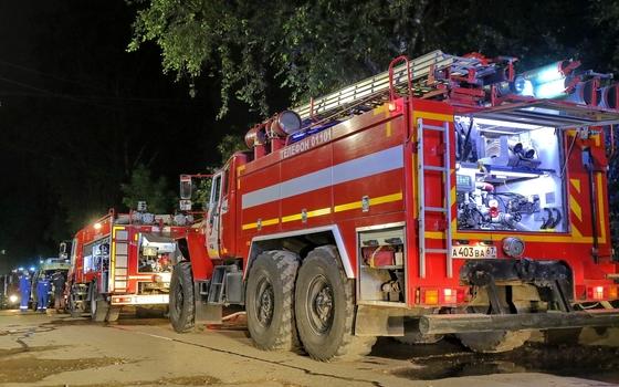 В Вяземском районе горели два дачных дома