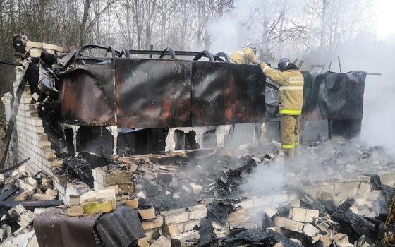 За один день на Смоленщине огонь дважды охватил дачные дома