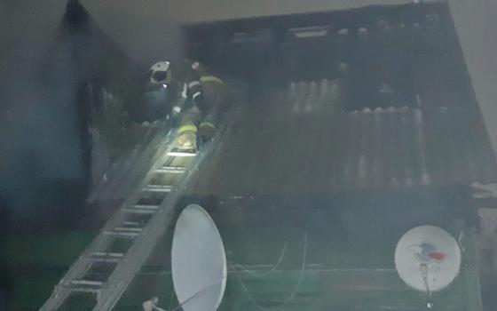 Бдительность соседей помогла избежать страшный пожар в Вязьме