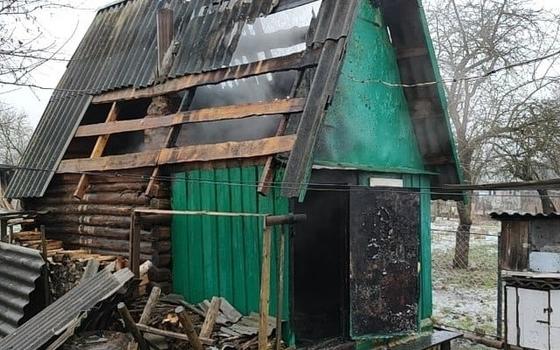 Бдительность соседей помогла спасти баню в Хиславичах