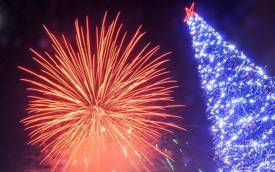 Смолянам рассказали места, где можно запускать фейерверки в новогоднюю ночь