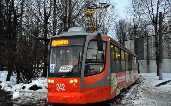 Трамвай №4 в Смоленске работает по прежнему маршруту