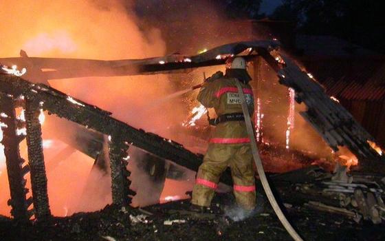 В деревне Боровая произошел пожар в жилом доме