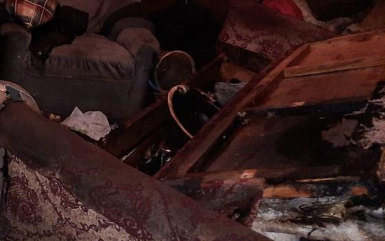 В одноэтажном доме в селе Вязьма-Брянская произошел пожар