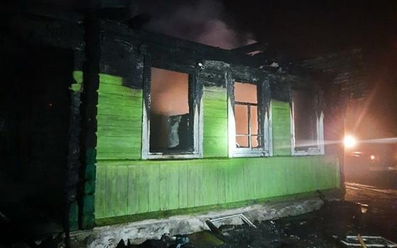Женщина умерла при пожаре в Велижском районе