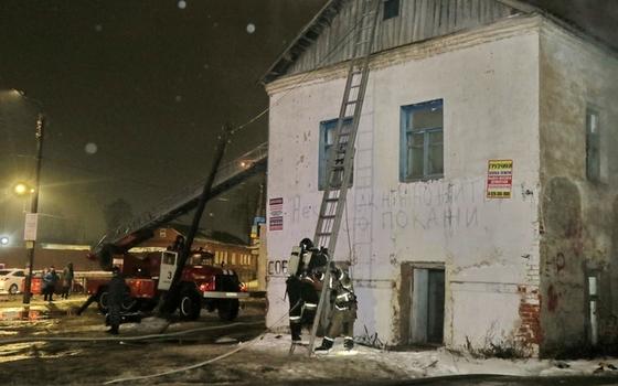 Четыре человека эвакуировали из пожара в Смоленске