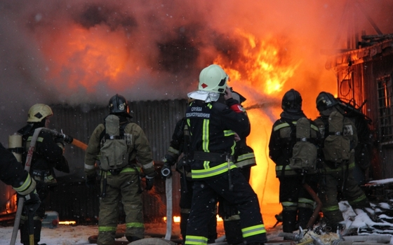 За один день смоляне устроили два пожара