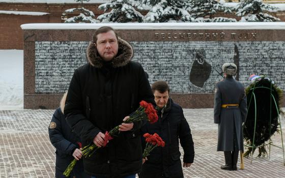 Губернатор Смоленской области возложил цветы к вечному огню