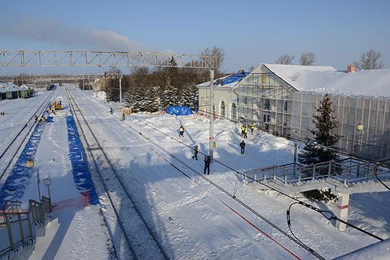 Художественная роспись появится на вокзале Гагарин к юбилею первого полета человека в космос