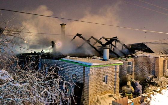 Пожар в Смоленске закончился серьезными потерями