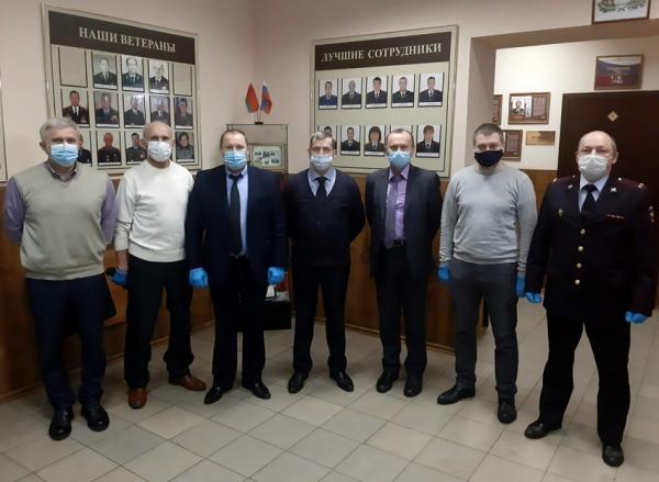 Состоялось первое заседание обновленного состава Общественного совета при линейном отделе МВД России на станции Смоленск