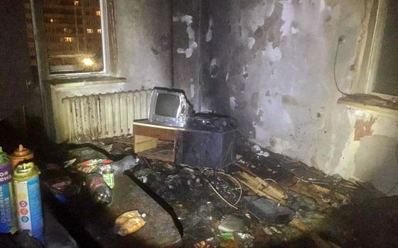 Смоленские пожарные из огня спасли мужчину