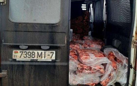 В Смоленской области пресекли ввоз 6 тонн мяса