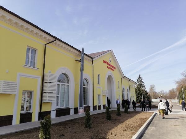 Обновленный вокзал открылся на станции Гагарин Смоленской области