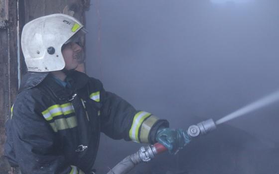В Руднянском районе загорелась квартира в жилом доме